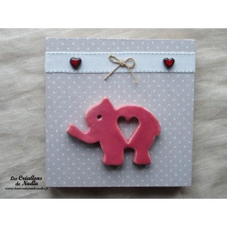 Tableau éléphant à 28