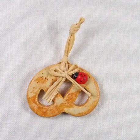 Mini bretzel pain d'épice