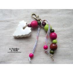 Grigri bijoux de sac blanc