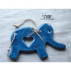 Eléphant en céramique