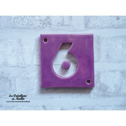 Plaque numéro maison