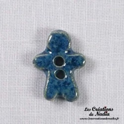 Bouton maennele bleu