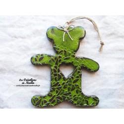 Grand ourson vert