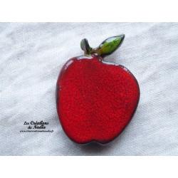 Magnet pomme rouge