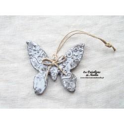 Papillon couleur Elsass café impressions florales