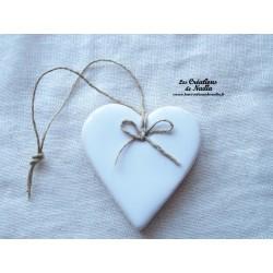 Coeur Katele blanc