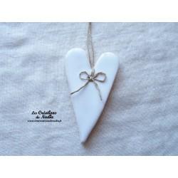 Coeur Suzel blanc