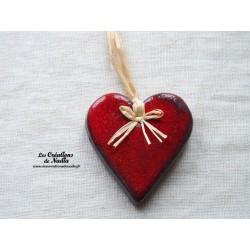 Coeur Katele rouge piment