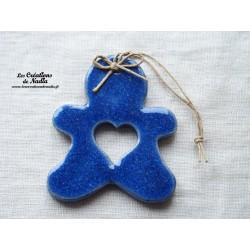 Mannele bleu outremer