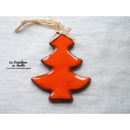 Sapin couleur orange