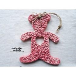 Paddington l'ourson rose bonbon avec impressions