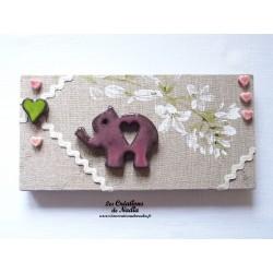 Tableau petit éléphant
