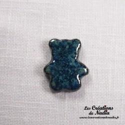 Sujet ourson bleu