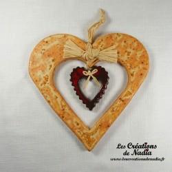 Coeur Hansi pain d'épice
