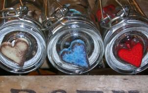 Coeurs en céramiques