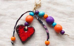 grigri bijoux de sac ou porte clefs