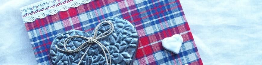 Tableaux coeur en céramique Liesel